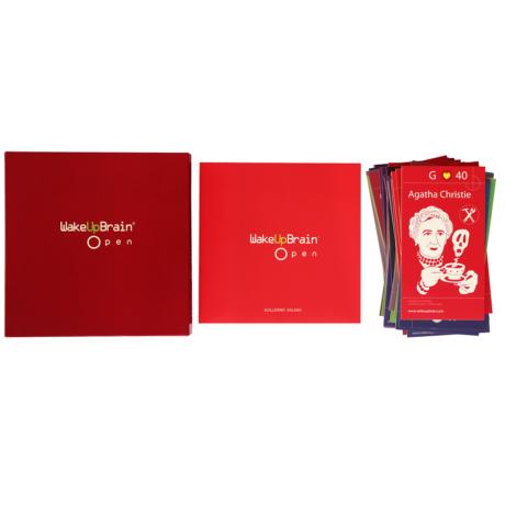 WakeUpBrain Juego, libro y tarjetas